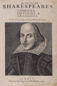 Comedies, Histories and Tragedies (First Folio)