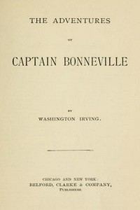 The Adventures of Captain Bonneville