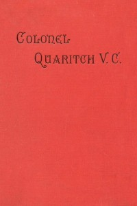 Colonel Quaritch V. C.