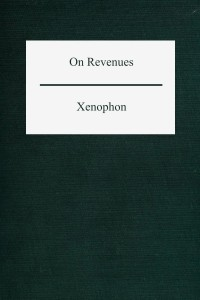 On Revenues (Ways and Means)