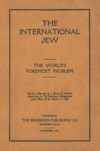 The International Jew - Nov 1920 - 1st Edition by Henry Ford