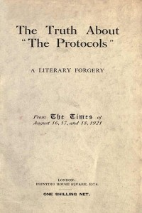 The Truth about 'The Protocols'