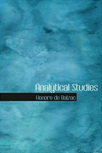 Analytical Studies - Honoré de Balzac