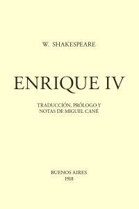 Enrique IV - William Shakespeare