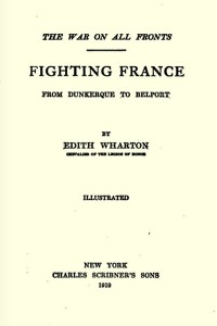 Fighting France - Edith Wharton