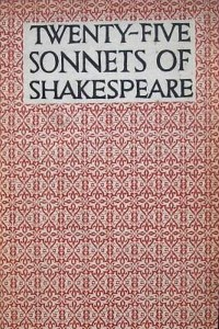 Twenty-Five Sonnets of Shakespeare