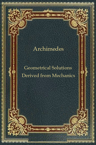 Geometrical Solutions Derived from Mechanics