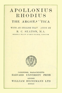 The Argonautica - Apollonius of Rhodes
