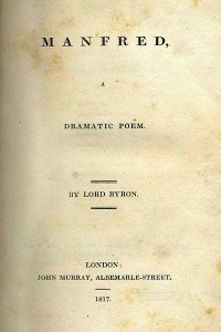 Manfred - Lord Byron