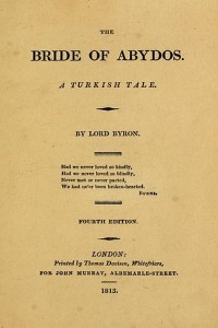 The Bride of Abydos - Lord Byron