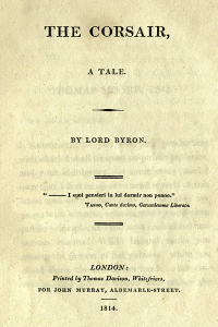 The Corsair - Lord Byron