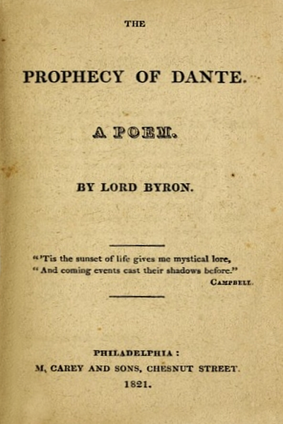 The Prophecy of Dante