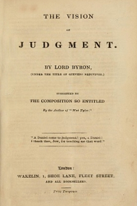 The Vision of Judgement - Lord Byron