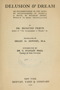 Desilusion and Dream - Sigmund Freud