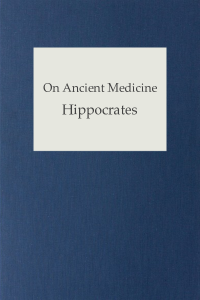 On Ancient Medicine