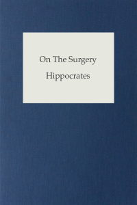 On The Surgery - Hippocrates