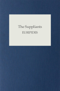 The Suppliants - Euripides
