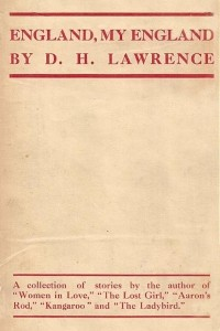 England, My England - D H Lawrence