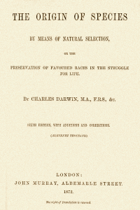 The Origin of Species - Charles Darwin