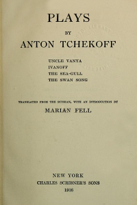 Plays by Anton Tchekoff