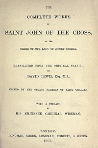 The Complete Works of Saint John of the Cross