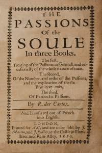 Passions of the Soul - Rene Descartes