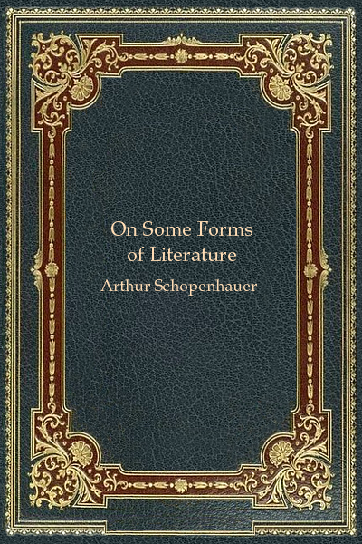 On Some Forms of Literature