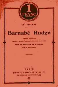 Barnabe Rudge - Charles Dickens