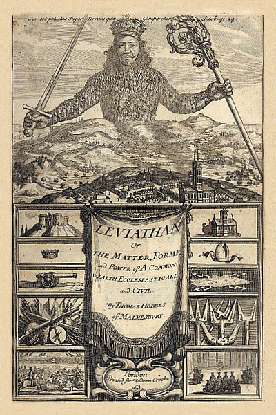 Leviathan or The Matter, Forme and Power of a Common-Wealth Ecclesiasticall and Civil