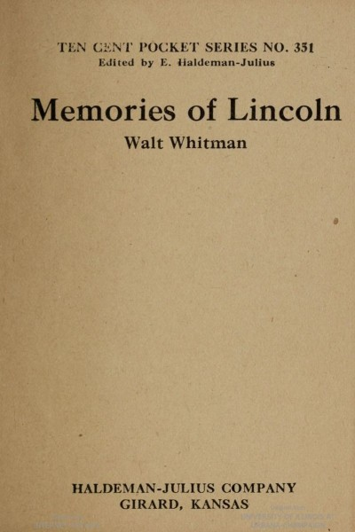 Memories of Lincoln