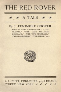The Red Rover - James Fenimore Cooper