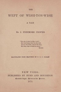 The Wept of Wish-Ton-Wish - James Fenimore Cooper
