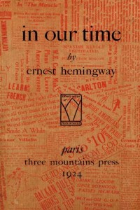 In Our Time - Ernest Hemingway