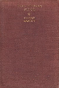 The Coxon Fund - Henry James