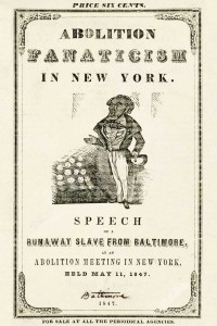 Abolition Fanaticism in New York - Frederick Douglass