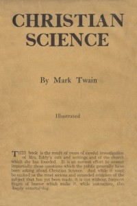 Christian Science - Mark Twain