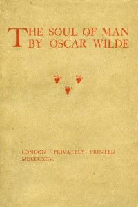The Soul of Man - Oscar Wilde