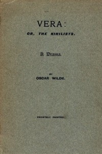 Vera Or The Nihilists - Oscar Wilde