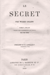 Le Secret - Wilkie Collins