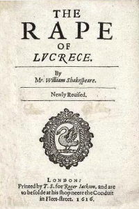 The Rape of Lucrece - William Shakespeare