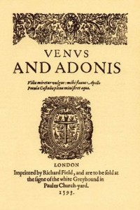 Venus-and-Adonis-William-Shakespeare